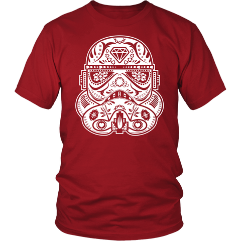 Storm Trooper Sugar Skull Inspired Design