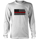 Kansas Firefighter Thin Red Line