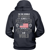 Daughter Police Officer (backside only) - Shoppzee