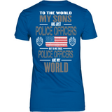 Police Officer Sons (Plural and backside design only)