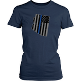Arizona Thin Blue Tee - Shoppzee