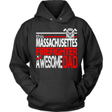 Awesome Massachusettes Firefighter Dad - Shoppzee