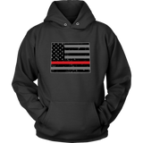 Wyoming Firefighter Thin Red Line - Shoppzee
