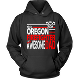 Awesome Oregon Firefighter Dad - Shoppzee