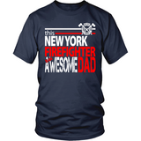 Awesome New York Firefigher Dad - Shoppzee