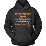 Deputy Sheriff Mom - I Raised My Hero - Sheriff Deputy Gifts - Shoppzee