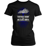 Kentucky Grown With Big Blue Roots (frontside design)