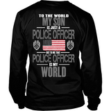 My Son The Police Officer (backside design only)