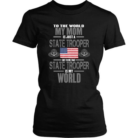 Mom State Trooper (frontside design only)