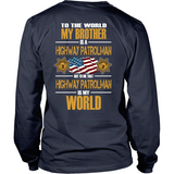 Brother Highway Patrol (backside design) - Shoppzee