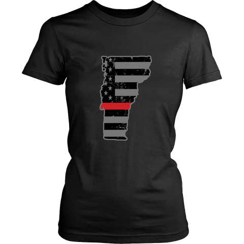 Vermont Firefighter Thin Red Line - Shoppzee