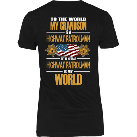 Grandson Highway Patrolman (backside design)