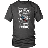 My Uncle The Mechanic (front design)