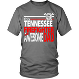 Awesome Tennessee Firefighter Dad - Shoppzee