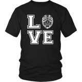 Police and Law Enforcement Love T Shirt