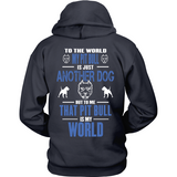 My Pit Bull Is My World