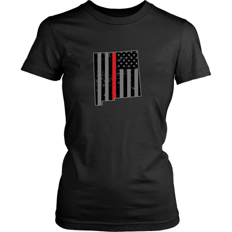 New Mexico Firefighter Thin Red Line