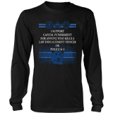 Do Not Kill Police Officers-Police Support-Police K9-Police Gifts-Police Officer Gifts - Shoppzee