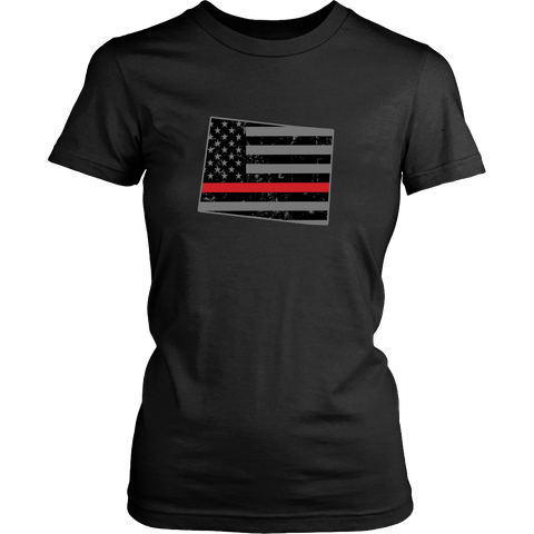 Colorado Firefighter Thin Red Line - Shoppzee