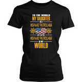Daughter Highway Patrol (frontside design) - Shoppzee