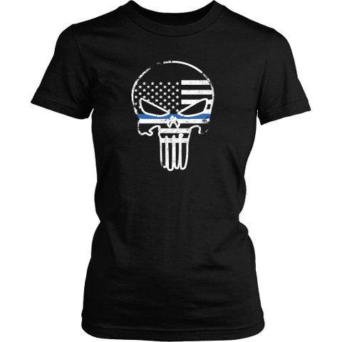 LEO Thin Blue Line American Superhero Punisher
