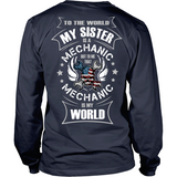 My Sister the Mechanic (backside design)