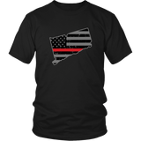 Connecticut Firefighter Thin Red Line - Shoppzee