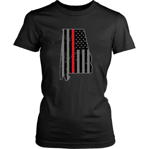 Alabama Firefighter Thin Red Line - Shoppzee