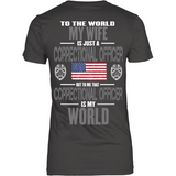 Wife Correctional Officer (backside design) - Shoppzee