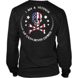 American Bad Ass Veteran Oath V.2 - Shoppzee