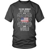 Mom Police Officer (frontside design)