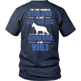 German Shepherds Are My World