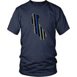 California Thin Blue Line Tee - Shoppzee