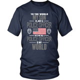 My Son The Police Officer (front design)