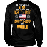 My Aunt Deputy Sheriff (backside design)