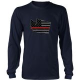 Washington Firefighter Thin Red Line - Shoppzee