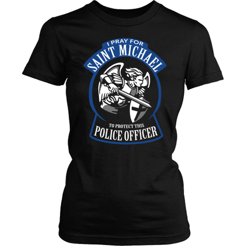 Police Officer Prayer Shirt - Pray For This Police Officer