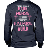 My Nurse Son Is My World