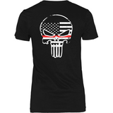 Firefighter Thin Red Line Superhero (backside design)