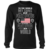 Police Officers Sons (plural and frontside design)