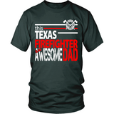 Awesome Texas Firefighter Dad - Shoppzee