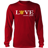 Firefighter Love Never Fails T Shirt