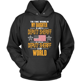 Deputy Sheriff Daughter (front design) - Shoppzee