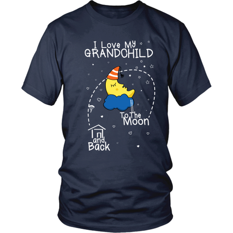 I Love My Grandchild To The Moon & Back (singular)