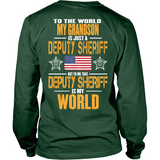 Grandson Deputy Sheriff (backside design)