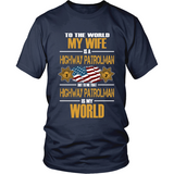 Wife Highway Patrolman (frontside design) - Shoppzee