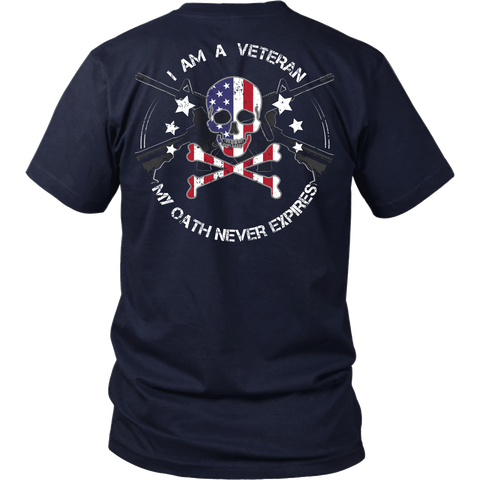 American Bad Ass Veteran Oath - Shoppzee