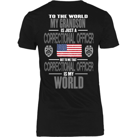 Grandson Correctional Officer (backside design)