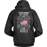 Mom Police Officer (backside design)