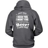 Beer I Love You Back - Shoppzee